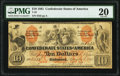 Confederate Notes:1861 Issues, T22 $10 1861 PF-1 Cr. 150 PMG Very Fine 20.. ...