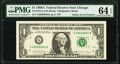 Small Size:Federal Reserve Notes, Super Radar 48888884 Fr. 1916-G $1 1988A Federal Reserve Note. PMG Choice Uncirculated 64 EPQ.. ...
