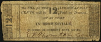 Brownsville, PA- Thornton & Co. 12-1/2¢ ND (ca. 1830s) Very Good-Fine