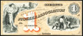 Obsoletes By State:Indiana, Lafayette, IN- Pioneer Association $1 18__ Wolka 1115-03 Proprietary Proof Choice Crisp Uncirculated.. ...