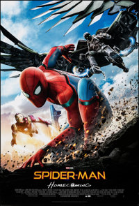 "Spider-Man: Homecoming (Columbia, 2017). Rolled, Very Fine+. One Sheet (27"" X 40"") DS Advance. Action"