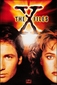 """The X-Files (Fox Television, 1994). Rolled, Very Fine+. Television One Sheet (27"""" X 40"""") SS. Science Fiction..."""