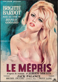 Movie Posters:Foreign, Le Mepris (Cocinor, 1963). Folded, Very Good/Fine....