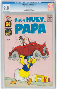 Baby Huey and Papa #1 - FILE COPY (Harvey, 1962) CGC NM/MT 9.8 Off-white pages