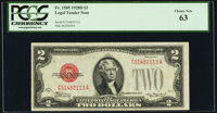 Fr. 1505 $2 1928D Legal Tender Note. PCGS Choice New 63