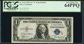 Fr. 1610 $1 1935A S Silver Certificate. PCGS Very Choice New 64PPQ