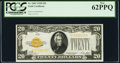 Fr. 2402 $20 1928 Gold Certificate. PCGS New 62PPQ