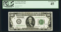 Small Size:Federal Reserve Notes, Fr. 2150-D $100 1928 Federal Reserve Note. PCGS Extremely Fine 45.. ...