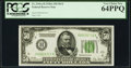 Small Size:Federal Reserve Notes, Fr. 2101-H $50 1928A Dark Green Seal Federal Reserve Note. PCGS Very Choice New 64PPQ.. ...