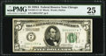 Fr. 1951-G* $5 1928A Federal Reserve Star Note. PMG Very Fine 25