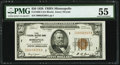 Fr. 1880-I $50 1929 Federal Reserve Bank Note. PMG About Uncirculated 55
