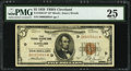 Fr. 1850-D* $5 1929 Federal Reserve Bank Star Note. PMG Very Fine 25
