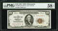 Fr. 1890-I $100 1929 Federal Reserve Bank Note. PMG Choice About Unc 58 EPQ