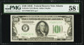Fr. 2155-F $100 1934C Federal Reserve Note. PMG Choice About Unc 58 EPQ