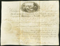 Philadelphia, PA- Philadelphia and Lancaster Turnpike Road Stock Certificate 1 Share March 16, 1795 Extremely Fine