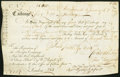 Colonial Notes:Maryland, Maryland Principio Company First Bill of Exchange £35 August 24, 1768 Fine.. ...