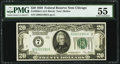 Small Size:Federal Reserve Notes, Fr. 2050-G $20 1928 Federal Reserve Note. PMG About Uncirculated 55.. ...