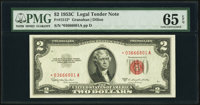 Fr. 1512* $2 1953C Legal Tender Star Note. PMG Gem Uncirculated 65 EPQ