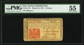 Colonial Notes:New Jersey, John Hart Signed New Jersey March 25, 1776 18d PMG About Uncirculated 55.. ...