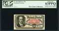 Fractional Currency:Fifth Issue, John Burke Courtesy Autograph Fr. 1381 50¢ Fifth Issue PCGS Choice New 63PPQ.. ...