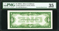 Error Notes:Inverted Reverses, Inverted Back Error Fr. 1601 $1 1928A Silver Certificate. PMG Choice Very Fine 35.. ...
