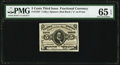 Fractional Currency:Third Issue, Fr. 1237 5¢ Third Issue PMG Gem Uncirculated 65 EPQ.. ...