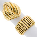 Estate Jewelry:Rings, Gold Rings, Henry Dunay. ... (Total: 2 Items)