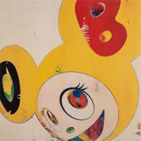 Takashi Murakami (b. 1962) And then and then and then and then and then / Lemon Pepper, 2006 Offset