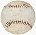 Autographs:Baseballs, c. 1920s Babe Ruth & Lou Gehrig Dual-Signed Baseball, PSA/DNA....