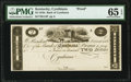 Obsoletes By State:Kentucky, Cynthiana, KY- Bank of Cynthiana $2 18__ as G14 as Hughes 185 Proof PMG Gem Uncirculated 65 EPQ.. ...