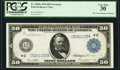 Large Size:Federal Reserve Notes, Fr. 1039a $50 1914 Federal Reserve Note PCGS Very Fine 30.. ...