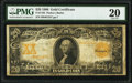 Large Size:Gold Certificates, Fr. 1185 $20 1906 Gold Certificate PMG Very Fine 20.. ...