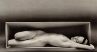 Ruth Bernhard (American, 1905-2006) In the Box-Horizontal, San Francisco, California, 1962 Offset lithograph on paper...