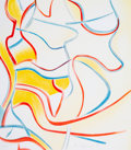 Prints & Multiples, Willem de Kooning (1904-1997). Untitled, from Quatre Lithographies, 1986. Lithograph in colors on Arches paper. 28-1...