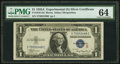 Fr. 1610 $1 1935A S Silver Certificate. PMG Choice Uncirculated 64