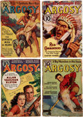 "Pulps:Adventure, Argosy ""The Synthetic Men of Mars"" Group of 6 (Munsey, 1939) Condition: Average GD/VG.... (Total: 6 Items)"