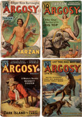 "Pulps:Adventure, Argosy ""Red Star of Tarzan"" Group of 6 (Munsey, 1938) Condition: Average GD.... (Total: 6 Items)"