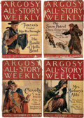 Pulps:Adventure, Argosy-All Story Weekly - Edgar Rice Burroughs Westerns Group of 19 (Munsey, 1924-28) Condition: Average GD/VG.... (Total: 19 Items)