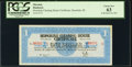 Obsoletes By State:Hawaii, Honolulu, HI- Honolulu Clearing House Association $1 Mar. 10, 1933 PCGS Choice New 63.. ...