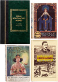 Books:Hardcover, H. Rider haggard Hardcover Editions Box Lot (Various, 1896-1994)....