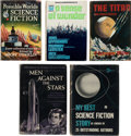 Books:Hardcover, Assorted Science Fiction Anthologies Hardcover Editions Box Lot (Various, 1949-67).... (Total: 13 Box Lots)