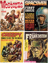 Miscellaneous Horror/Sci-Fi Magazines Box Lot (Various Publishers, 1960-75) Condition: Average FN