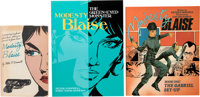 Modesty Blaise Related Short Box Group of 29 (Various Publishers, 1965-2011) Condition: Average VF/NM