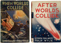 "Books:Hardcover, Edwin Balmer & Philip Wylie ""Worlds Collide"" Group of 2 (Various, 1933-34).... (Total: 2 Items)"