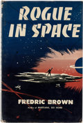 Books:First Editions, Fredric Brown Rogue in Space First Edition (Dutton, 1957)....