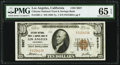 Los Angeles, CA - $10 1929 Ty. 1 Citizens National Trust & Savings Bank Ch. # 5927 PMG Gem Uncirculated 65 EPQ...