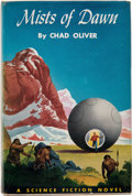 Books:Hardcover, Chad Oliver Mists of Dawn First Edition (Winston, 1952)....