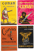 Books:Hardcover, Robert E. Howard Hardcover Editions Group of 8 (Gnome/Arkham House, 1946-63).... (Total: 8 Items)