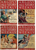 Pulps:Adventure, Argosy-All Story Weekly - Edgar Rice Burroughs Science Fiction Group of 9 (Munsey, 1923-25). Condition: Average FR.... (Total: 9 Items)