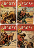 """Pulps:Adventure, Argosy """"Lost on Venus"""" Group of 7 (Munsey, 1933) Condition: Average FR/GD.... (Total: 7 Items)"""